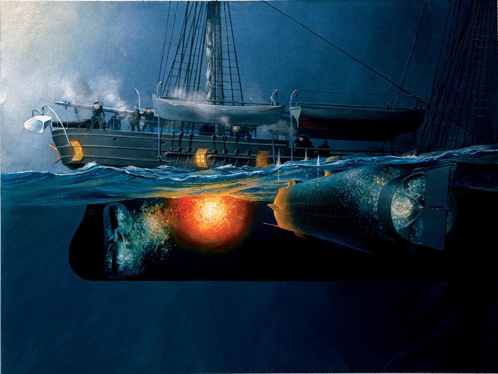 рассказ подводная лодка слушать
