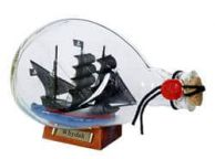 Whydah Gally Pirate Ship in a Glass Bottle 7