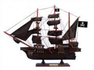 Wooden Caribbean Pirate Black Sails Model Ship 15